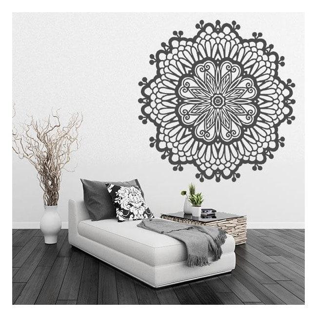 Sticker wall rosette