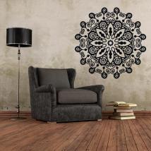 Vinyl decorative rosette