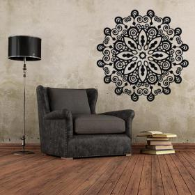 Vinyl decorative rosette