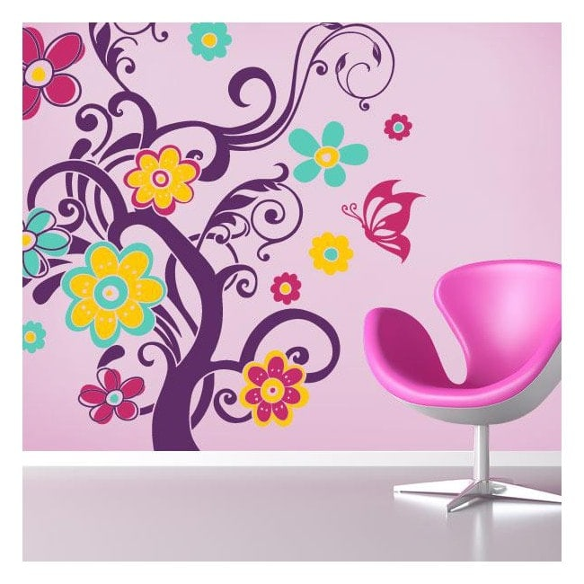 Adhesives and stickers vinyl colors of nature