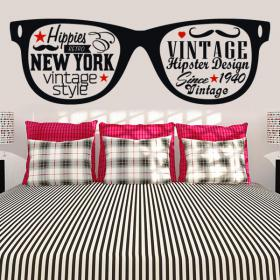 Adhesive decorative vinyl stickers Hipster