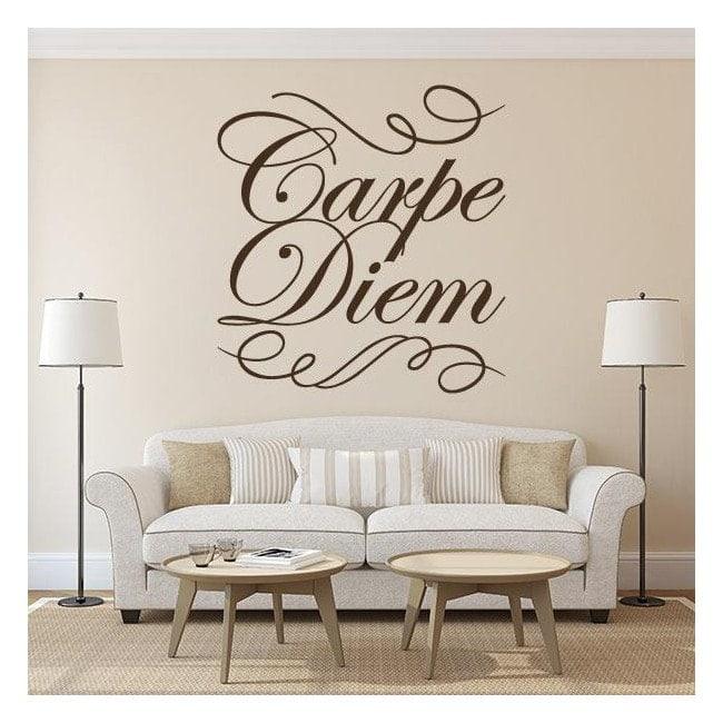 Decorative vinyl Carpe Diem
