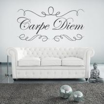 Decorative vinyl stickers Carpe Diem