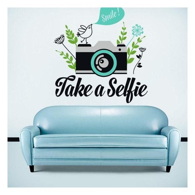 Decorative vinyl Stickers Take a Selfie
