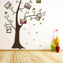 Stickers wall tree family photos