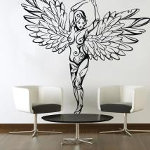 Wall stickers Tribal Angel