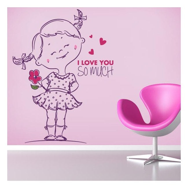 ... Loved So Much Wall Stickers Vinyl Children 39 S Phrases I You So Much  ... Part 9