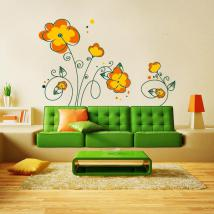 Spring Floral decorative vinyl