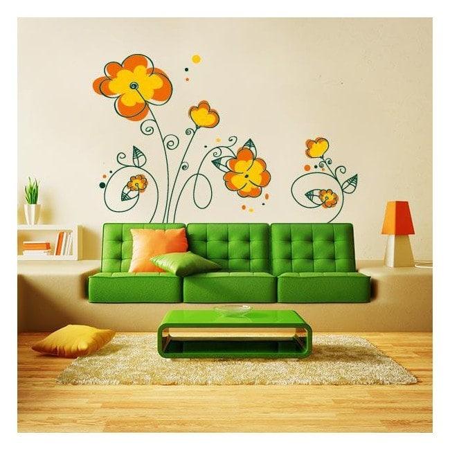 Spring Floral decorative vinyl