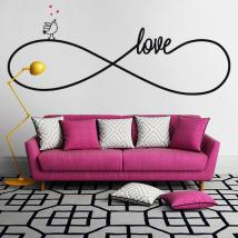Decorative vinyl Sticker Love