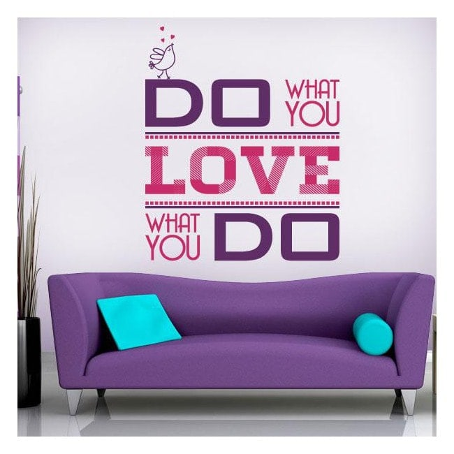 Decorative vinyl Do What You Love