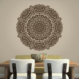 Vinyl adhesive decorative Mandala