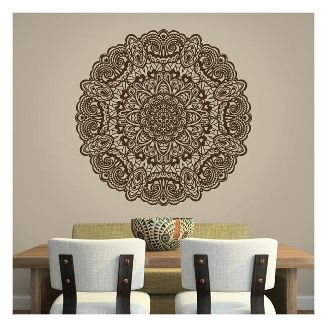 Vinyl adhesive decorative Mandala