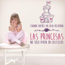 Vinyl decorative phrases princesses