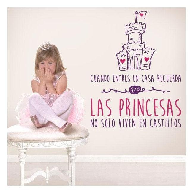 Vinyl decorative phrases princesses