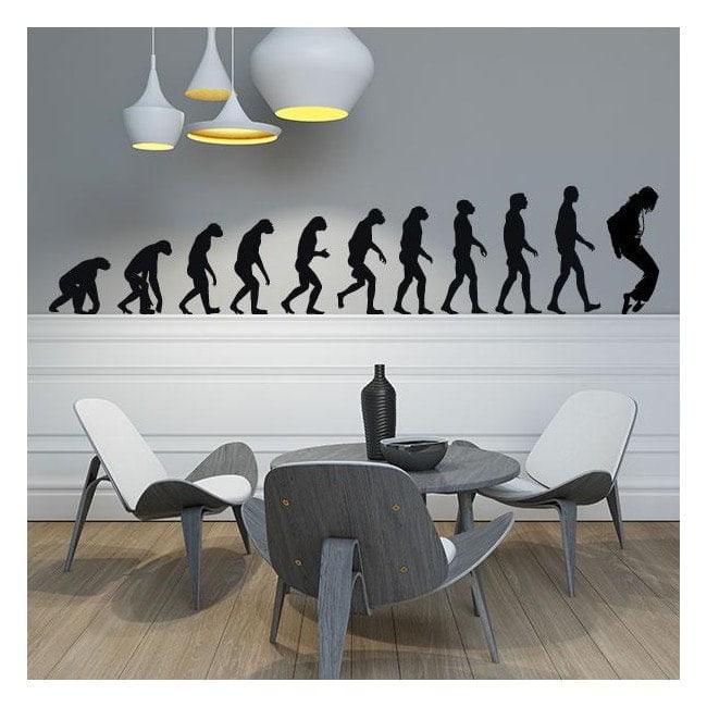 Decorative vinyl Jackson Evolution