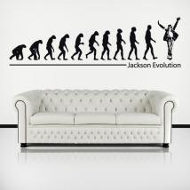 Decorative vinyl Michael Jackson Evolution