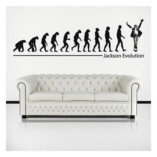 Decorative vinyl Michael Jackson Evolution