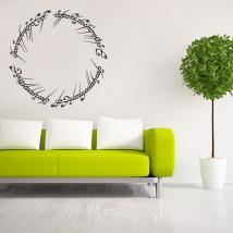 The Lord of the rings text decorative vinyl