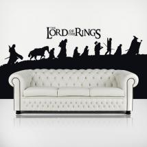 The Lord Of The Rings decorative vinyl English 1142