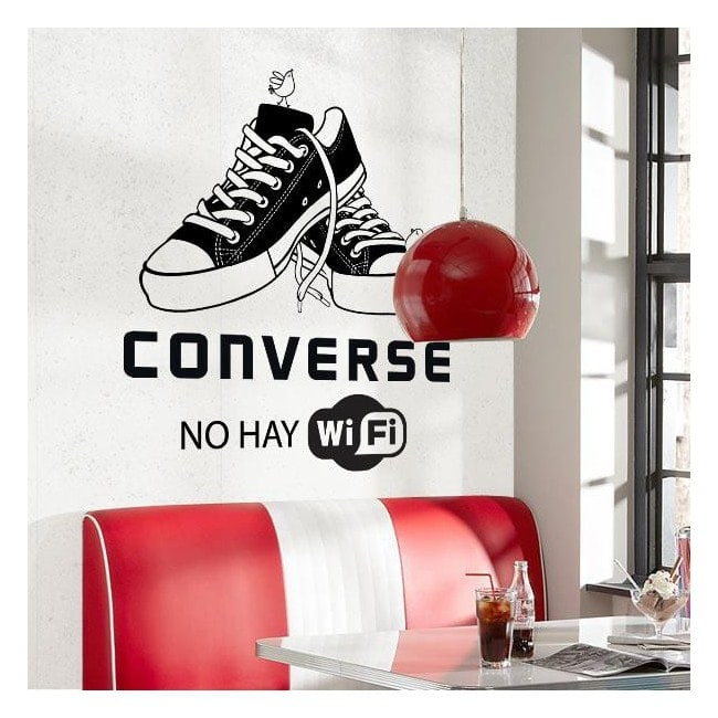 Decorative vinyl talk no Wifi