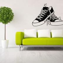 Decorative vinyl Retro Shoes