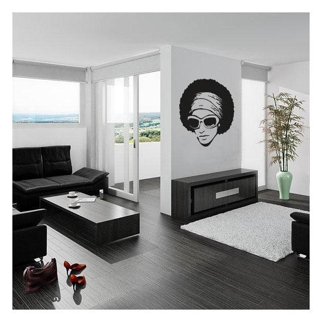 Decorative vinyl Retro style