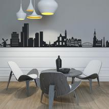 Skyline Amsterdam decorative vinyl