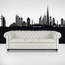 Decorative vinyl Skyline Dubai