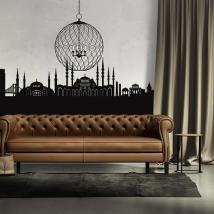 Decorative vinyl Skyline Istanbul