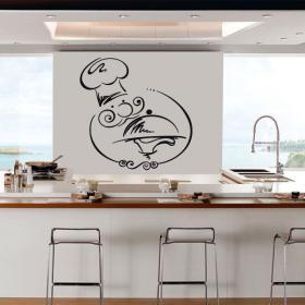 Vinyl kitchen Chef