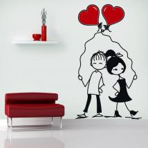 Decorative vinyl romantic moments