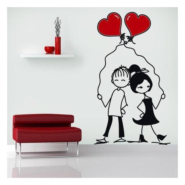 Decorative vinyl romantic moments