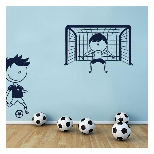 Decorative vinyl children's football