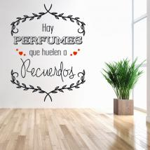 Decorate walls love phrase stickers