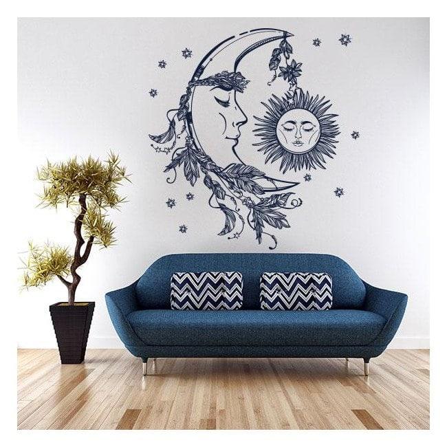 Mystical Sun and moon vinyl