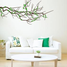 Vinyl Floral branch