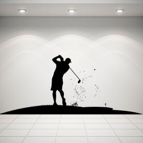 Golf decorative vinyl
