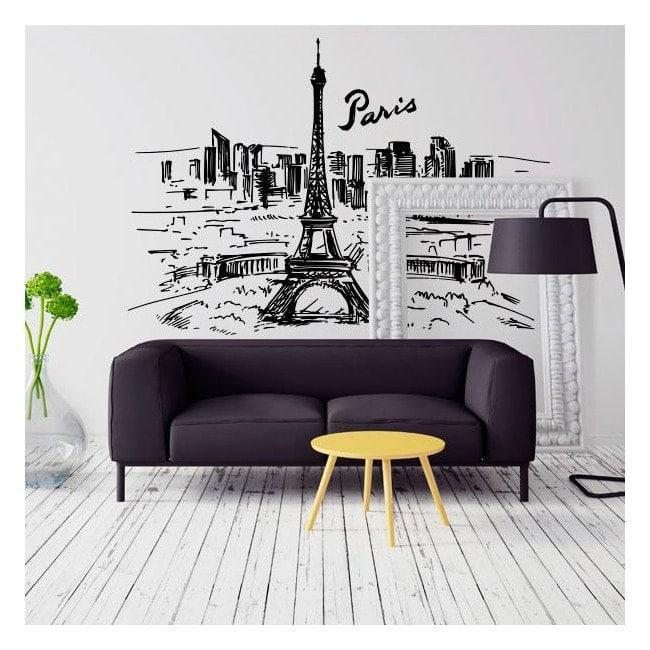 Skyline Paris vinyl