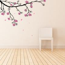 Cherry Blossom or Sakura Japanese vinyls