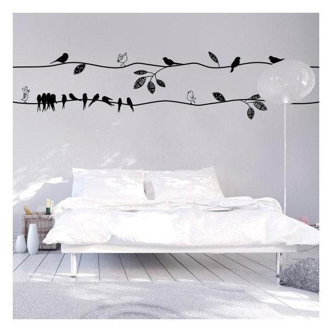 Vinyl birds with style