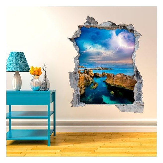 Vinyl walls 3D Sea Ray