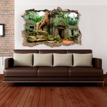 3D wall vinyls Ta Prohm