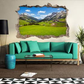 Vinyl 3D peoples mountains