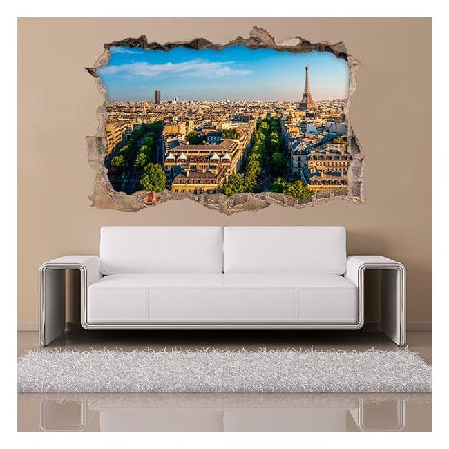 3D vinyl Paris English 4543