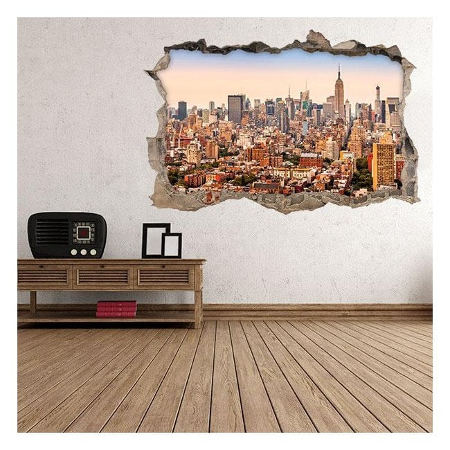 New York City 3D vinyl