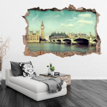 Vinyl 3D Big Ben London