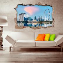 Vinyl 3D Singapore city