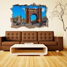 Vinyl 3D Barcelona Arc De Triomphe