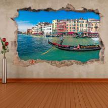 Vinyl 3D Venice Gondola